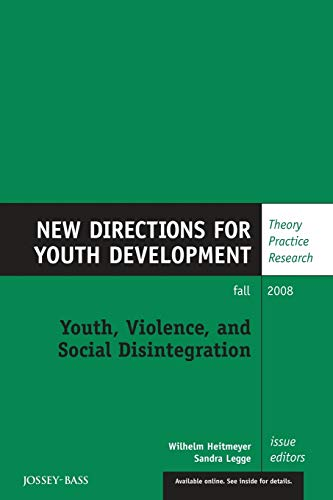 9780470424094: Youth Violence Soc Disinte 119
