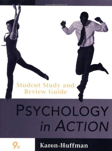 9780470424254: Psychology in Action, Study Guide