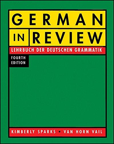 9780470424292: German In Review: Lehrbuch der deutschen Grammatik