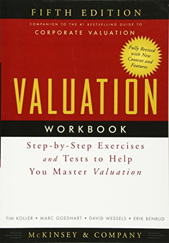 9780470424643: Valuation Workbook: Step-by-Step Exercises and Tests to Help You Master Valuation
