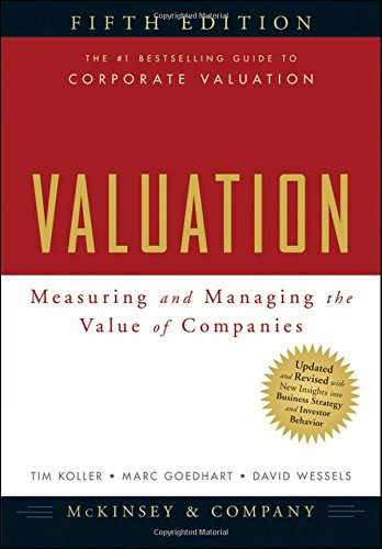 9780470424650: Valuation: Measuring and Managing the Value of Companies (Wiley Finance Series)