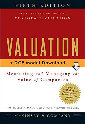 9780470424698: Valuation: Measuring and Managing the Value of Companies