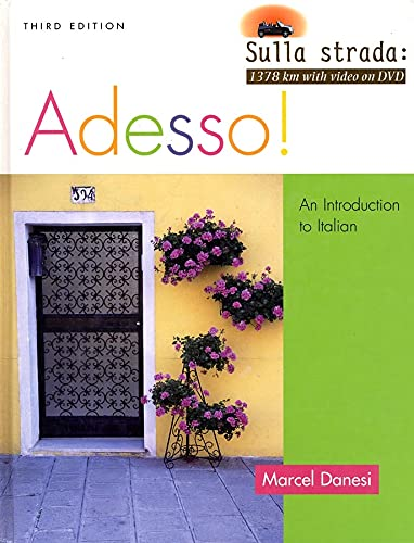 9780470424995: Adesso!, Student Text with Audio CD: An Introduction to Italian