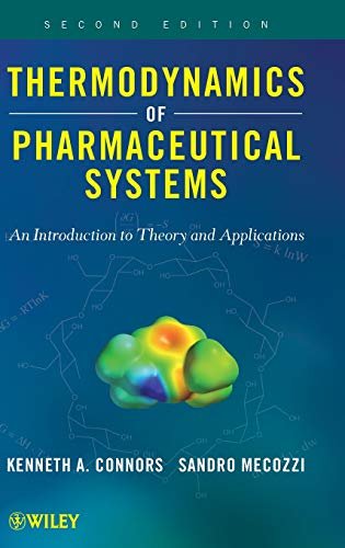 9780470425121: Thermodynamics of Pharmaceutical Systems: An introduction to Theory and Applications