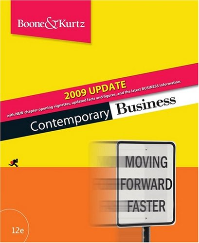 9780470425800: Contemporary Business 2009