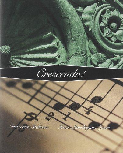 9780470426142: Crescendo!: An Intermediate Italian Program