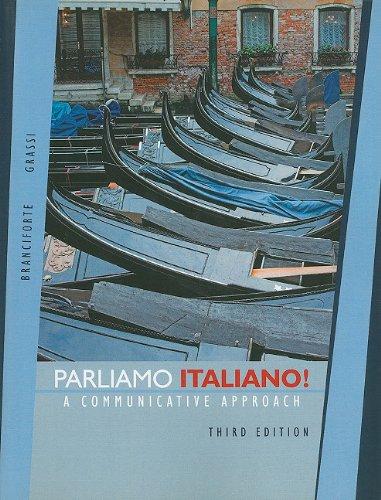 9780470426364: Parliamo italiano!: A Communicative Approach