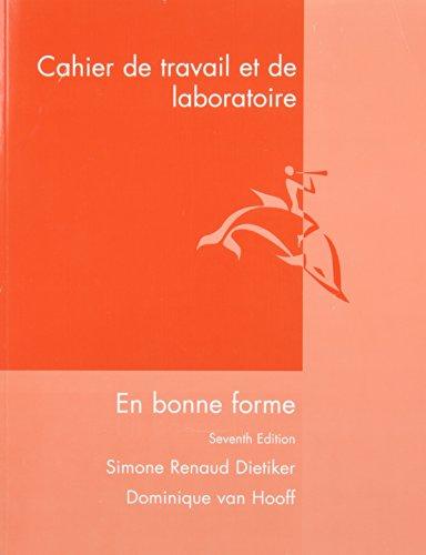 9780470427156: En Bonne Forme: Cahier De Travail Et Laboratoire (French Edition)