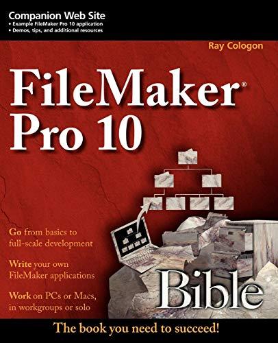 9780470429006: FileMaker Pro 10 Bible