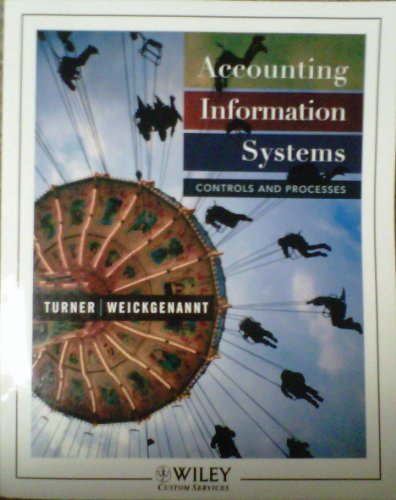 9780470429303: Accounting Information Systems: Controls and Processes