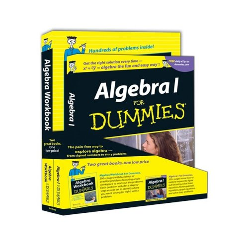 9780470430958: Algebra for Dummies + Algebra Workbook for Dummies Education Bundle