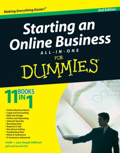 9780470431962: Starting an Online Business All-in-One Desk Reference For Dummies