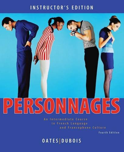 9780470432174: Personnages: Annotated Instructor's Edition: An Intermediate Course in French Language and Francophone Culture (Cengage Acquisition)