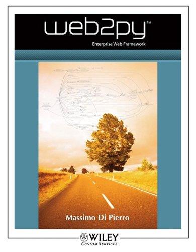 9780470432327: Web2py Manual