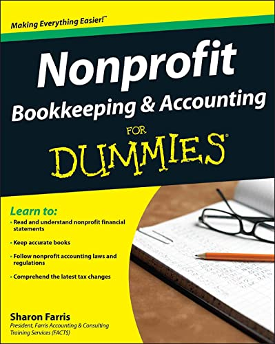 9780470432365: Nonprofit Bookkeeping and Accounting For Dummies
