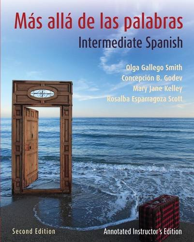 9780470432402: Ms all de las palabras, Textbook and Annotated Instructor's Manual: Intermediate Spanish (Spanish Edition)