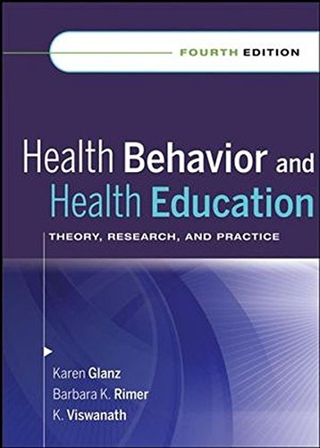9780470432488: Health Behavior and Health Education: Theory, Research, and Practice