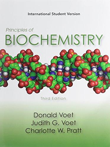9780470433478: Principles of Biochemistry