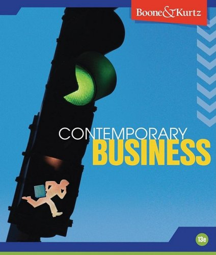 9780470433683: Contemporary Business