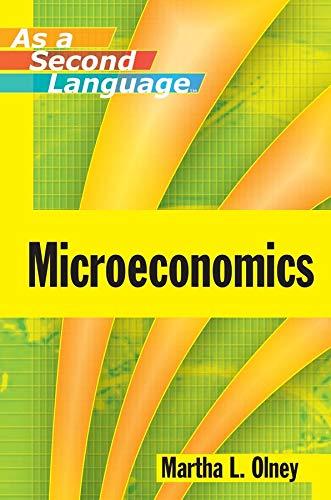 9780470433737: Microeconomics as a Second Language