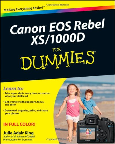 9780470433928: Canon EOS Rebel XS / 1000D For Dummies