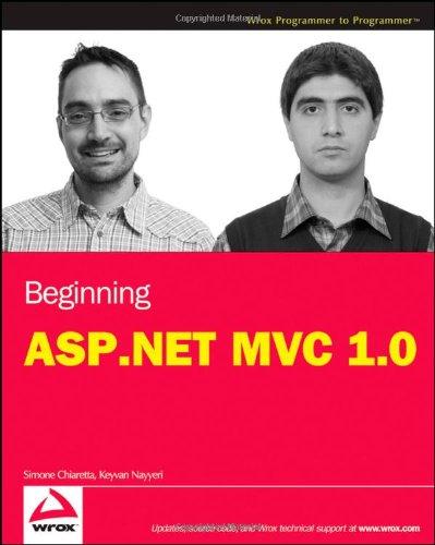 9780470433997: Beginning ASP.NET MVC 1.0