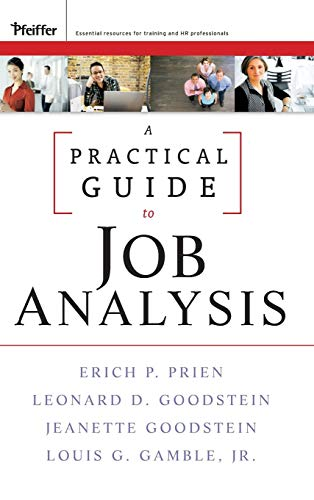9780470434444: A Practical Guide to Job Analysis