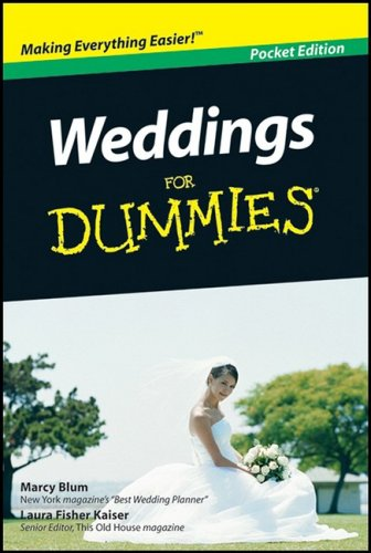 9780470435724: Weddings for Dummies, Pocket Edition