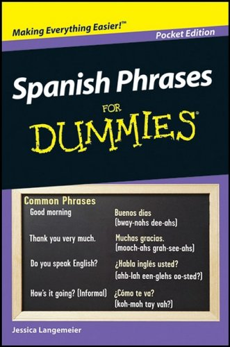 9780470435755: Spanish Phrases for Dummies Pocket Edition (Spanish Phrases for Dummies Pocket Edition)