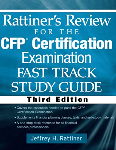 9780470436288: Rattiner's Review for the CFP(R) Certification Examination, Fast Track, Study Guide