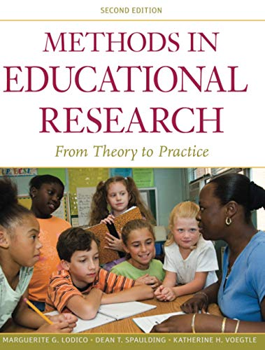 9780470436806: Methods in Educational Research: From Theory to Practice