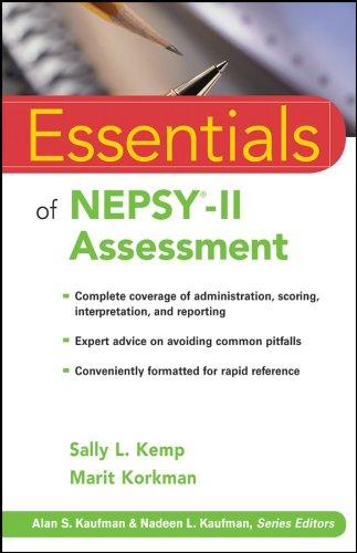 9780470436912: Essentials of NEPSY-II Assessment