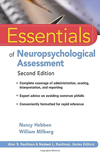 9780470437476: Essentials of Neuropsychological Assessment