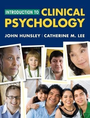 9780470437513: Introduction to Clinical Psychology: An Evidence-Based Approach