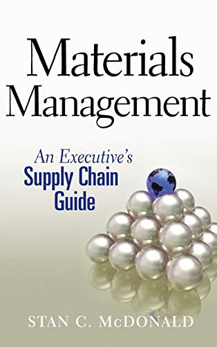 9780470437575: Materials Management: An Executive's Supply Chain Guide