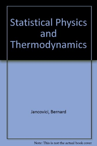 9780470439654: Statistical Physics and Thermodynamics