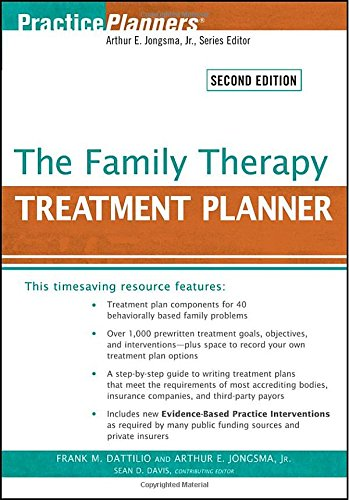 9780470441930: The Family Therapy Treatment Planner