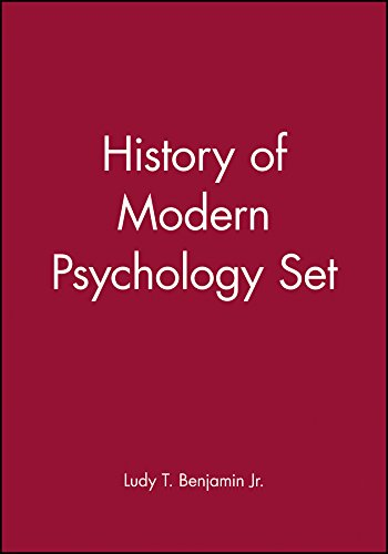 9780470442173: History of Modern Psychology Set