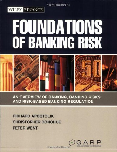 9780470442197: Foundations of Banking Risk: An Overview of Banking, Banking Risks, and Risk-Based Banking Regulation