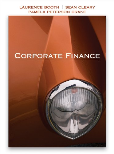 Corporate Finance: Booth, Laurence, Cleary,