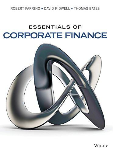 9780470444658: Essentials of Corporate Finance