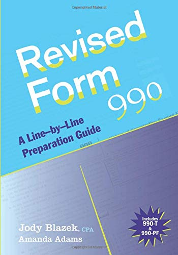 9780470446478: Revised Form 990: A Line-by-Line Preparation Guide