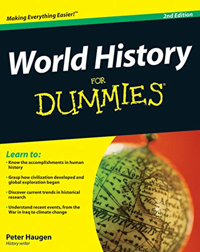 9780470446546: World History for Dummies, 2nd Edition