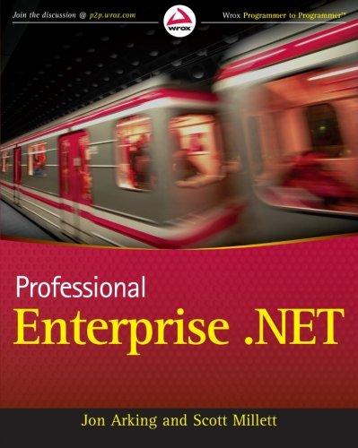 9780470447611: Professional Enterprise .NET