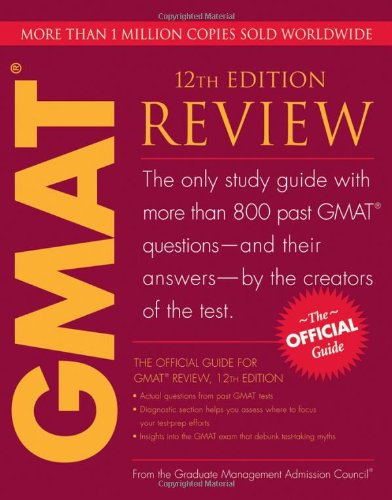 9780470449745: The Official Guide for GMAT Review, 12th Edition
