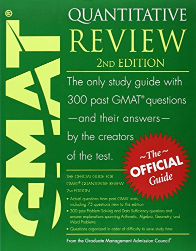 9780470449769: The Official Guide for GMAT Quantitative Review, 2nd Edition