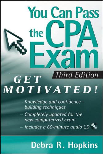 9780470450024: You Can Pass the CPA Exam: Get Motivated
