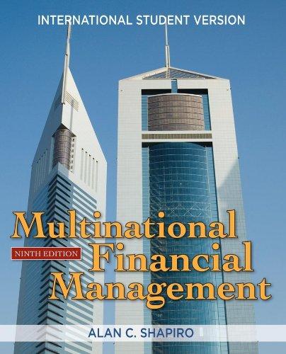 9780470450352: Multinational Financial Management