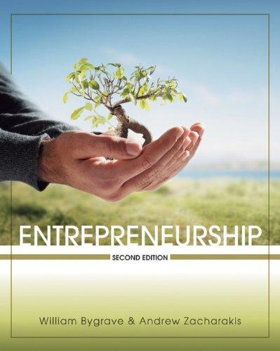 Entrepreneurship: William D. Bygrave,