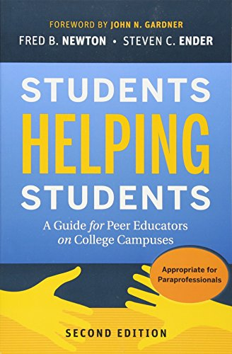 9780470452097: Students Helping Students: A Guide for Peer Educators on College Campuses